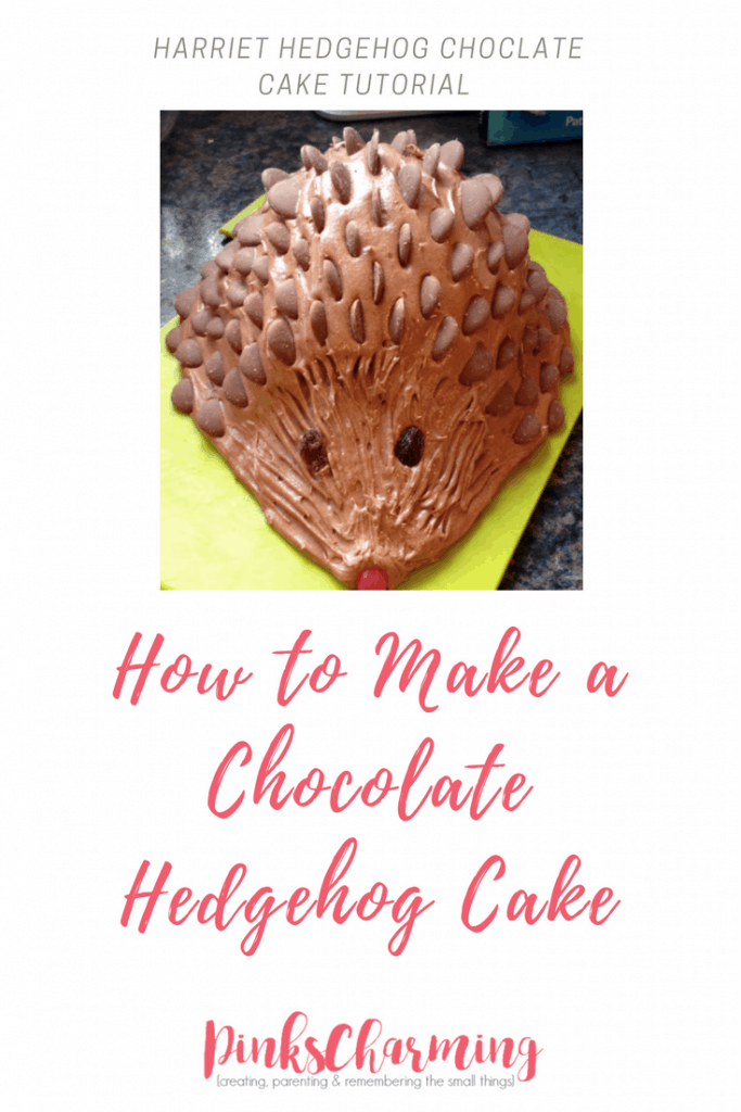 A step by step tutorial showing you how to make the classic 80s chocolate Harriet hedgehog cake.