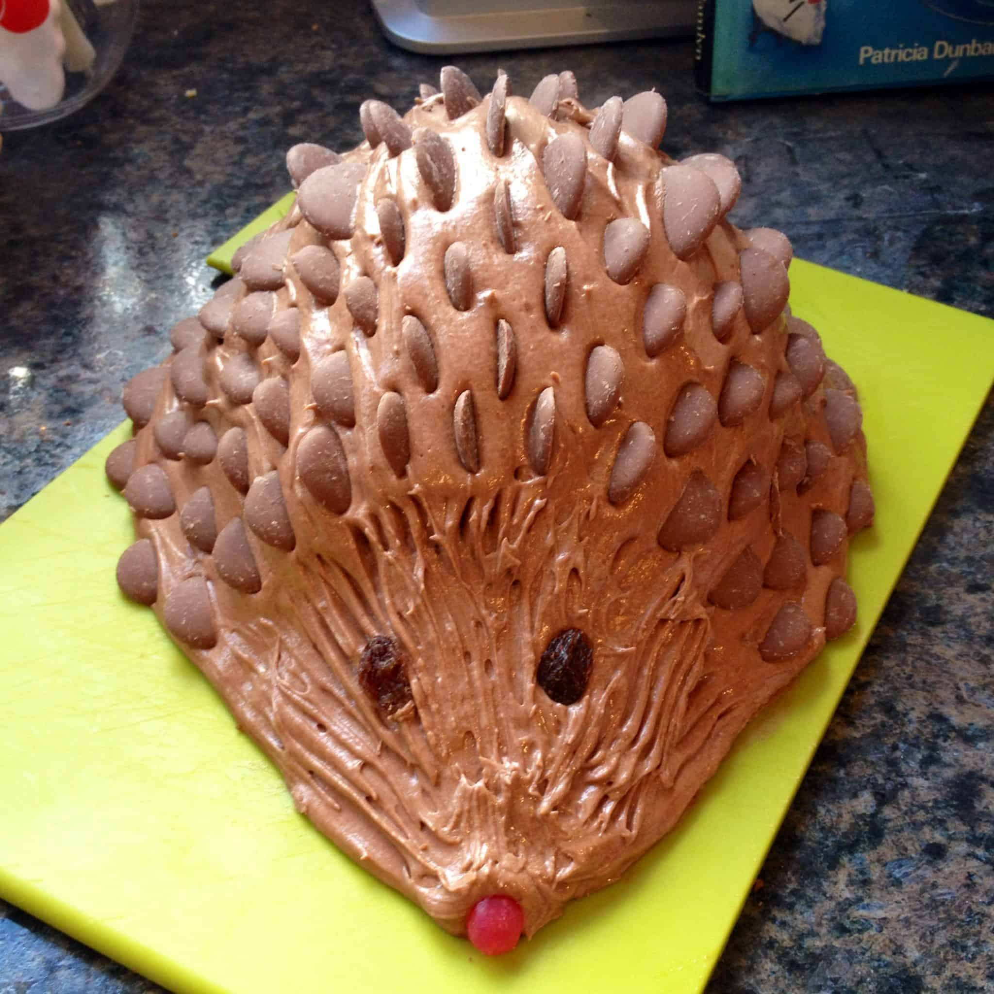 How To Make The Classic 80s Harriet Hedgehog Birthday Cake