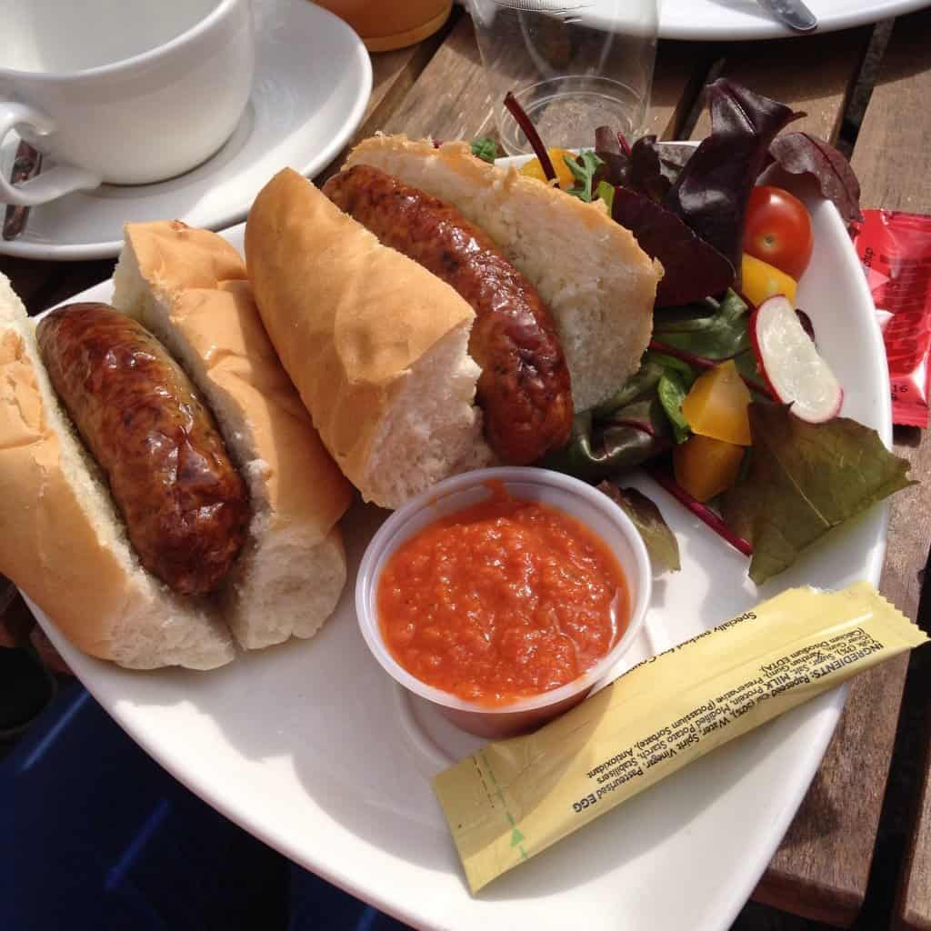 Sausage sandwiches, yum!