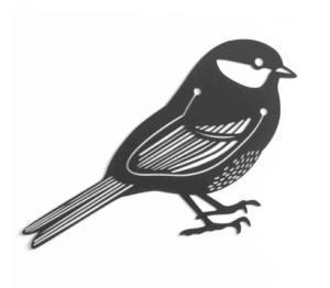Howkapow Black Bird Marker