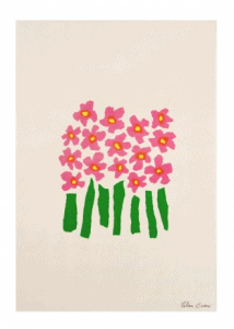 Howkapow Bouquet Print