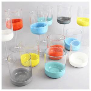 Howkapow Colourful Spot Glasses