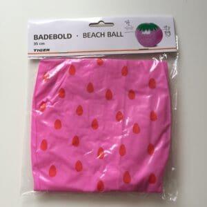 Pink beachball