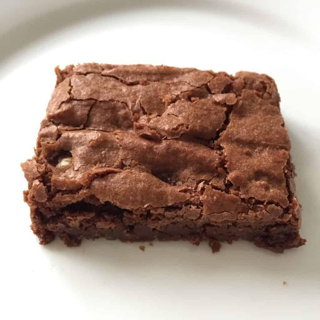 Easy gluten-free walnut brownie