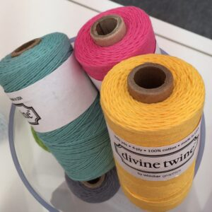 Colourful twine