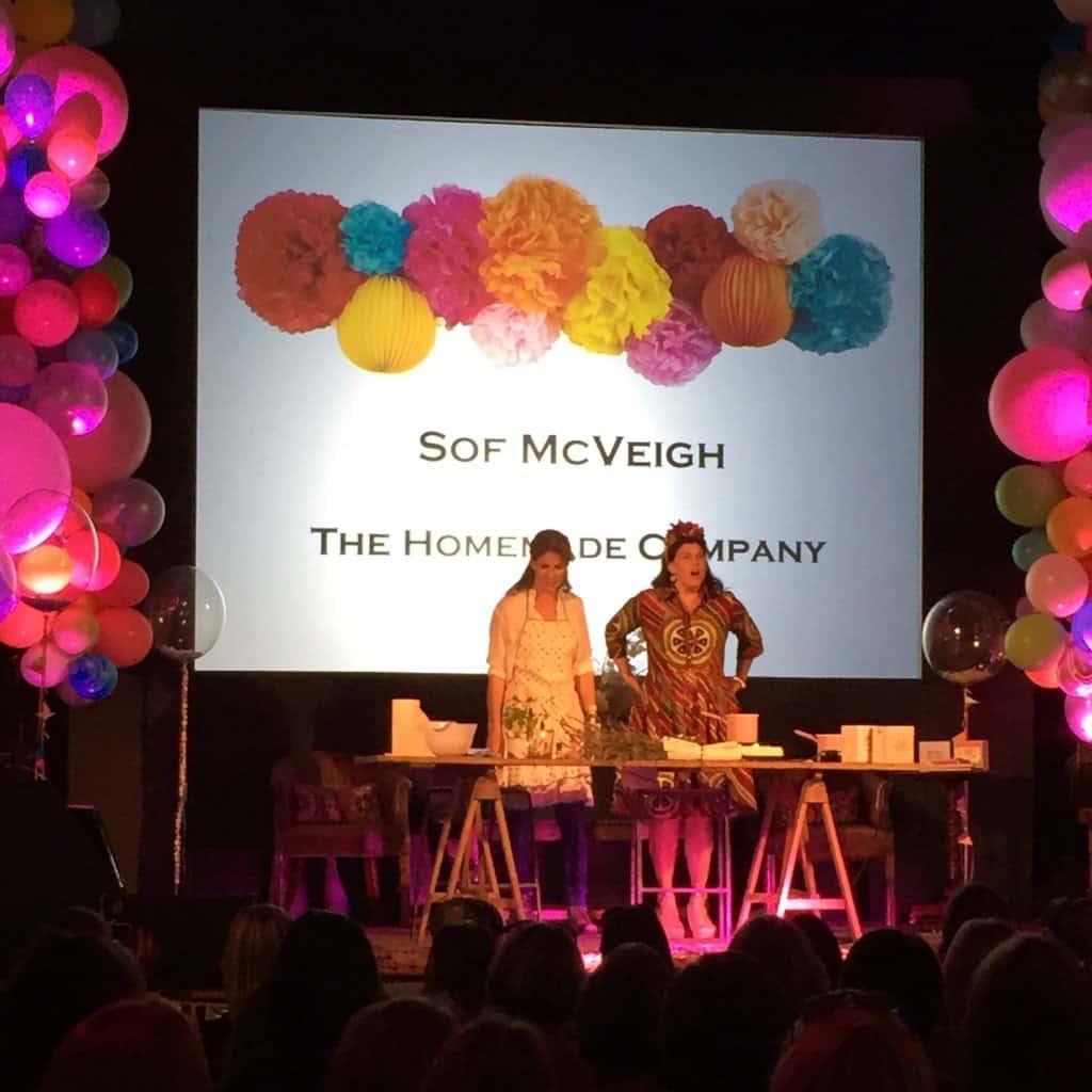 Sop McVeigh and Kirsty Allsopp at The Handmade Fair