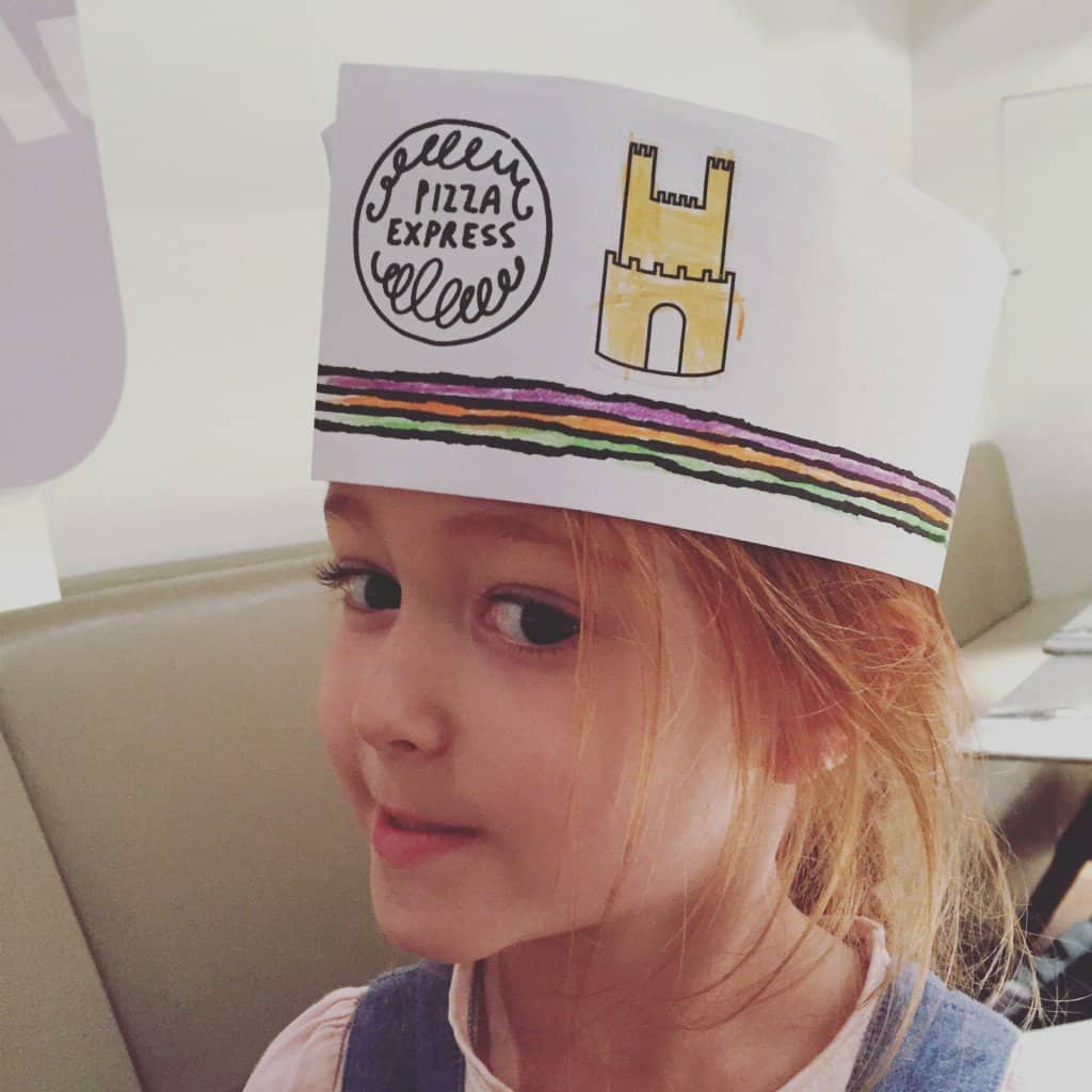 Ava's Pizza Express hat