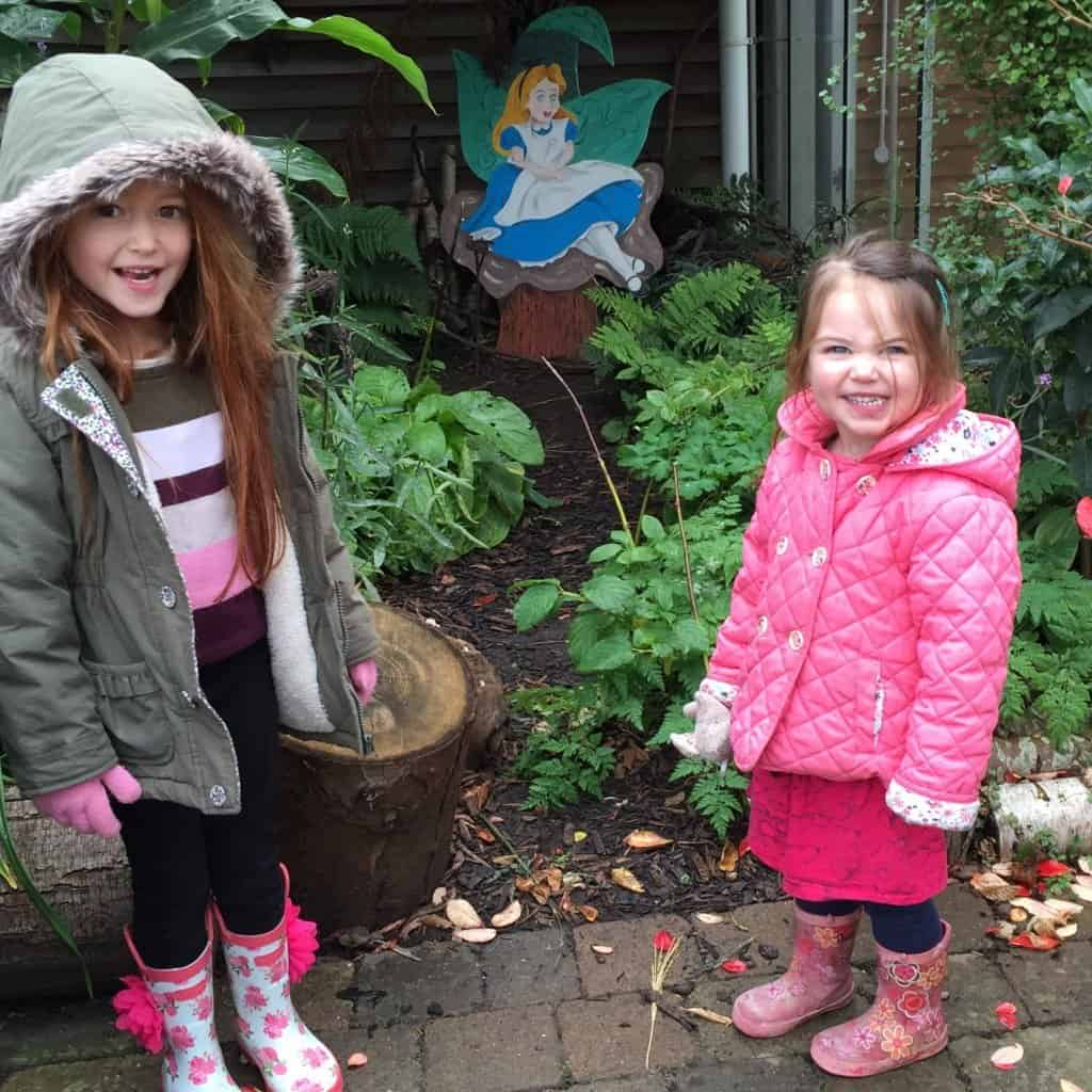 Ava, Thea and 'Alice' at RHS WIsley