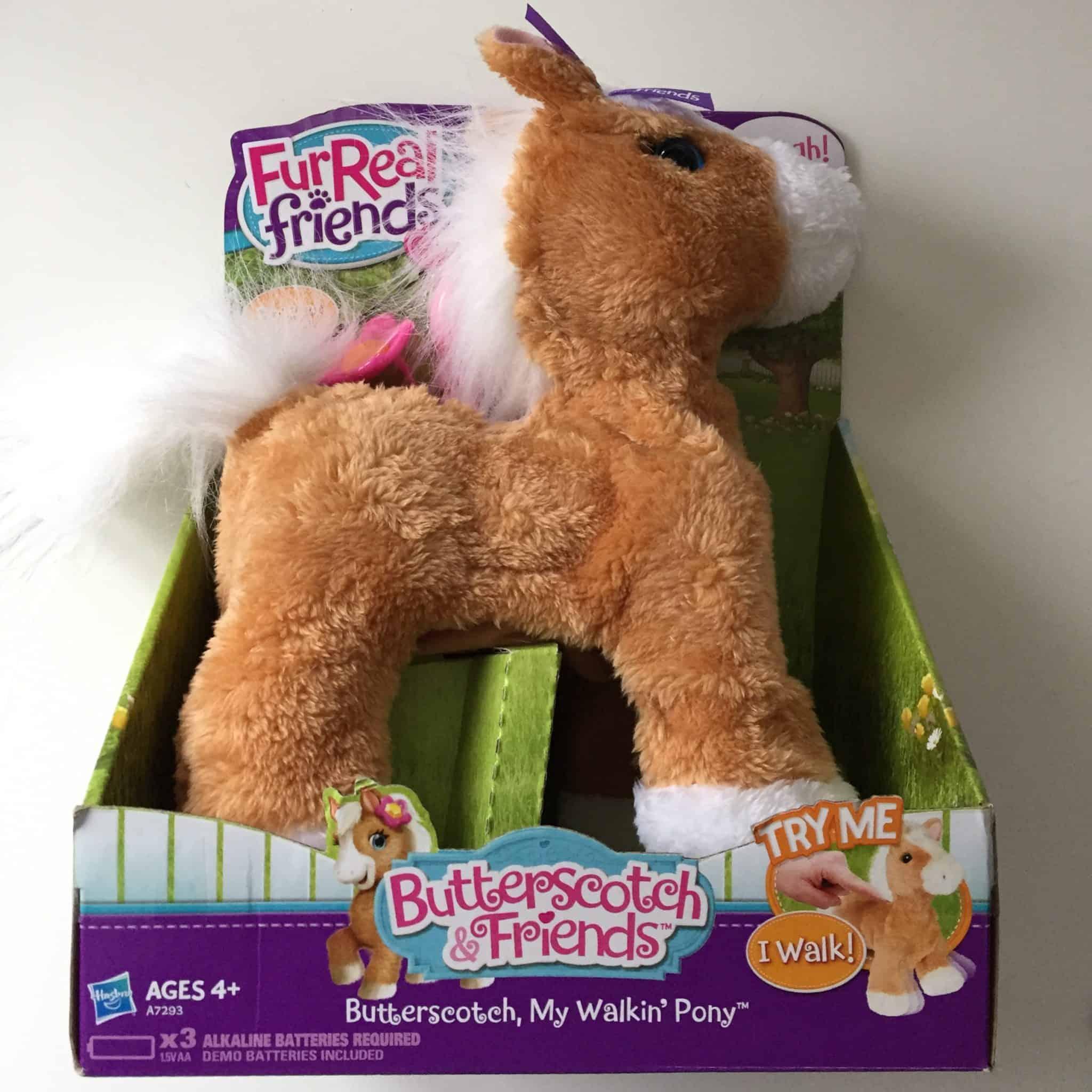 Butterscotch Walkin' Pony