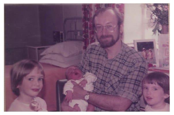 The Fielding kids in 1984