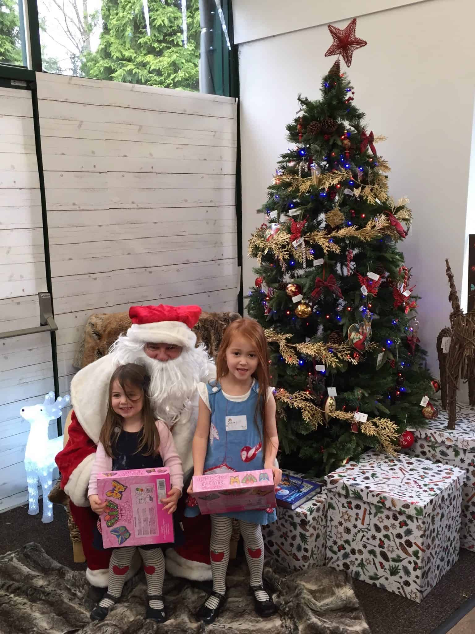 Our review of Wyevale Garden Centre's Breakfast with Father Christmas.