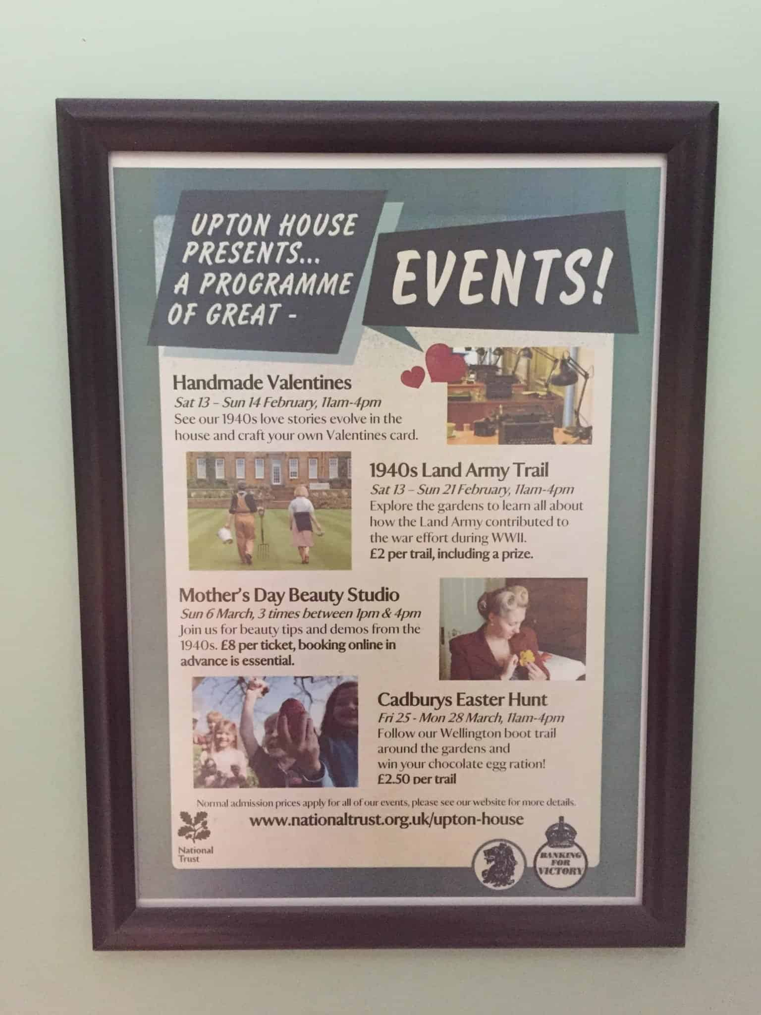 Upton House events