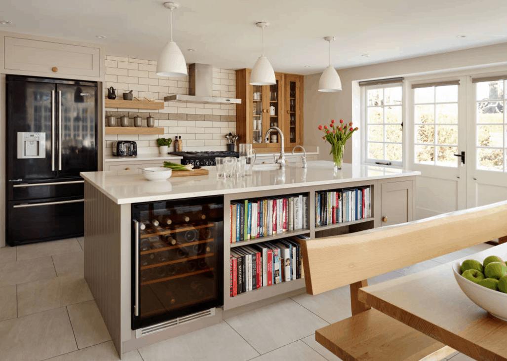 Shaker Kitchen by Harvey Jones via IDEABOOKS
