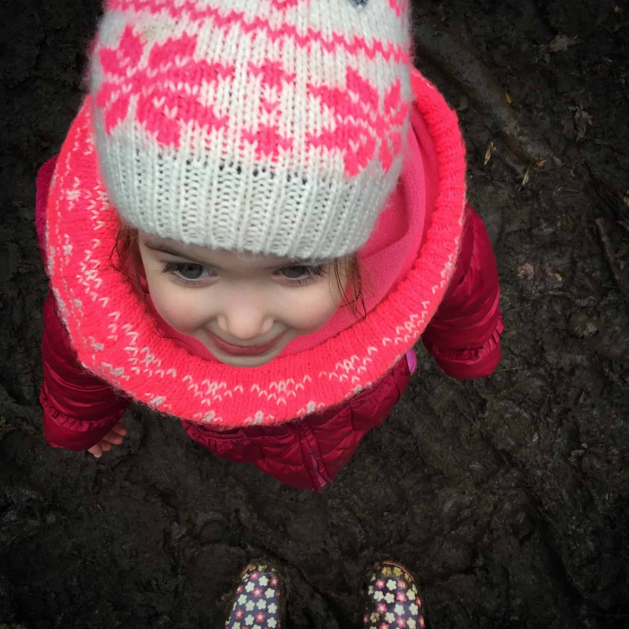 Thea in the mud