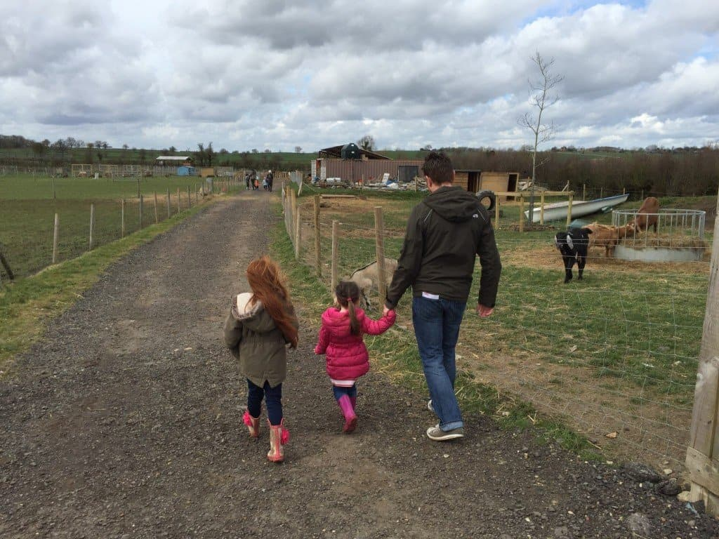 Fun at Green Dragon Eco Farm
