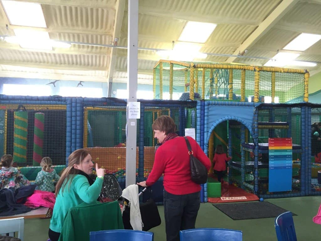 Playbarn soft play at Green Dragon Eco Farm