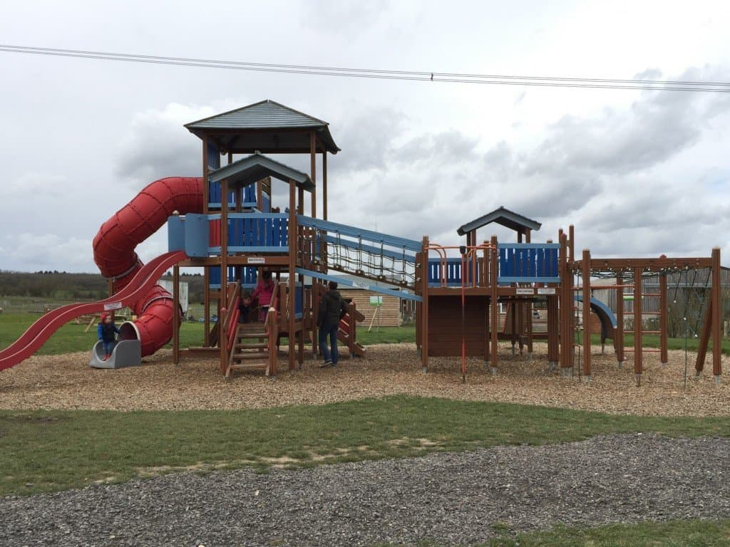 Playground at Green Dragon Eco Park