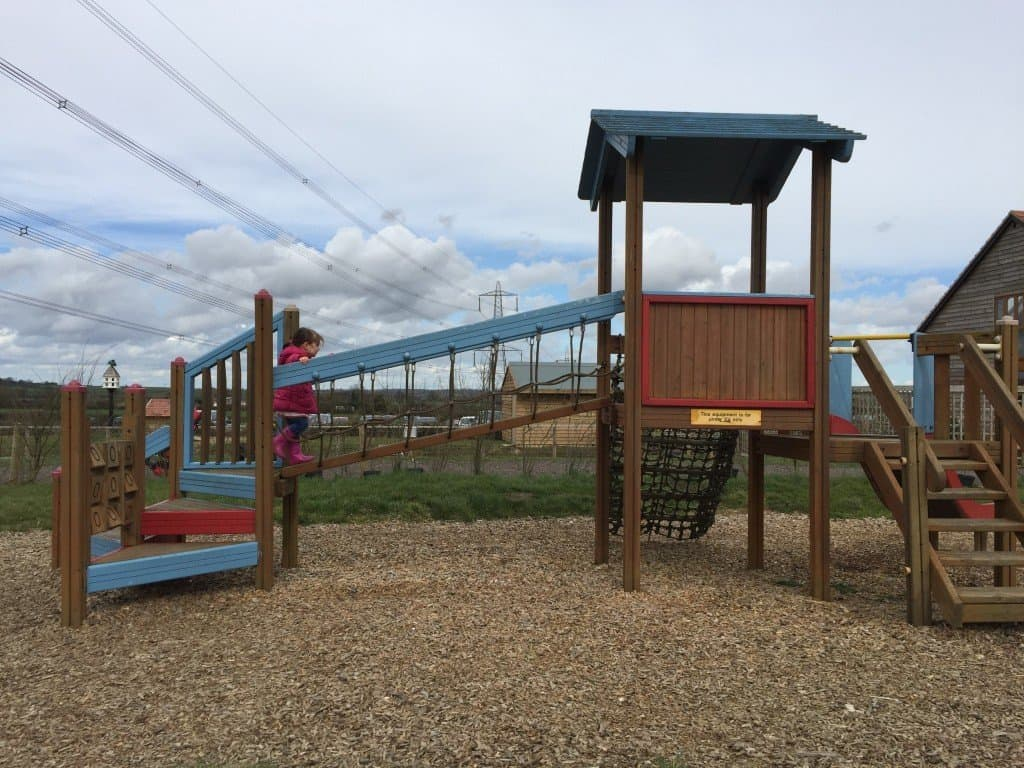 Adventure playground at Green Dragon Eco Farm