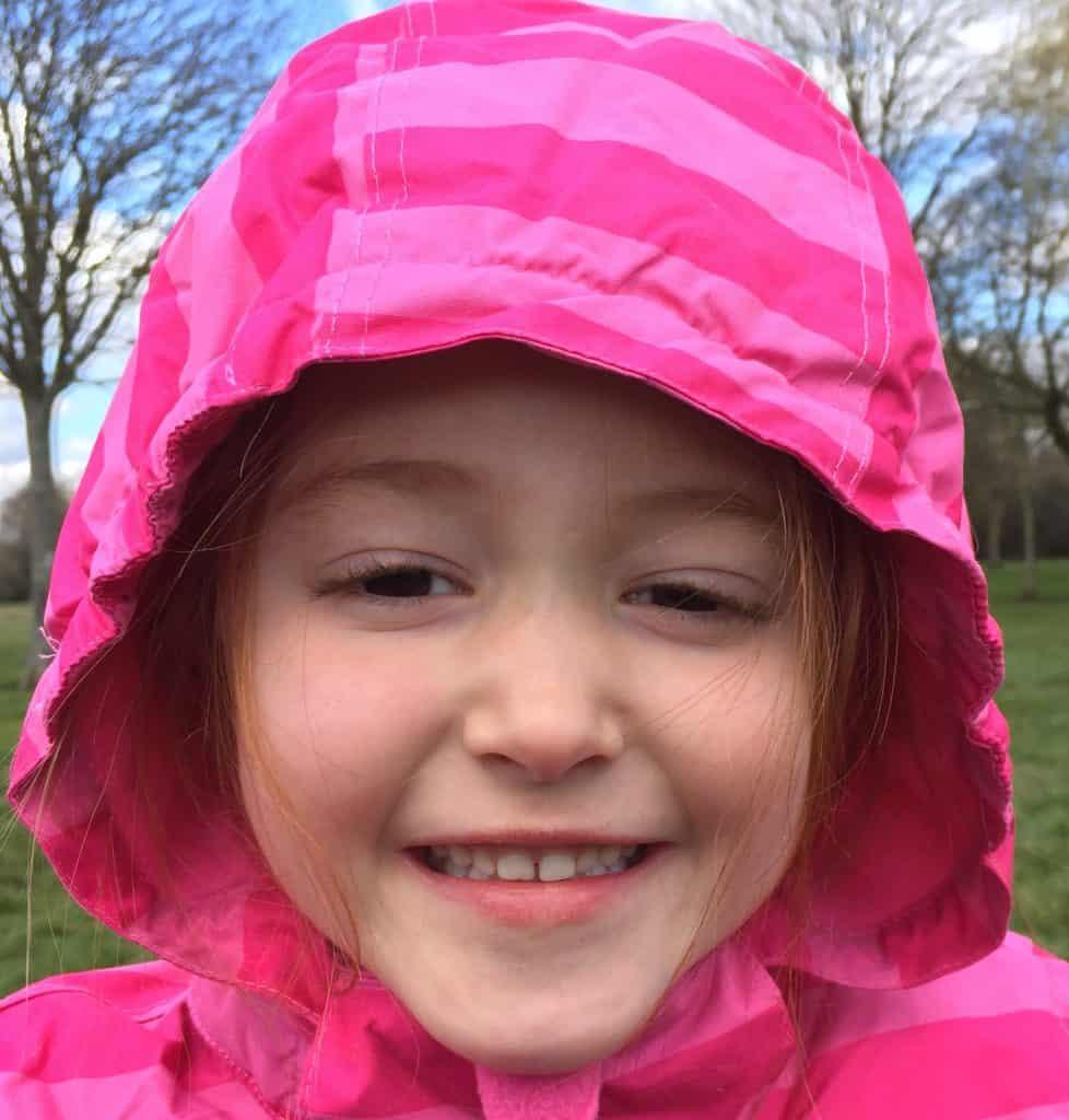 Ava loves her Trespass Snow Jacket