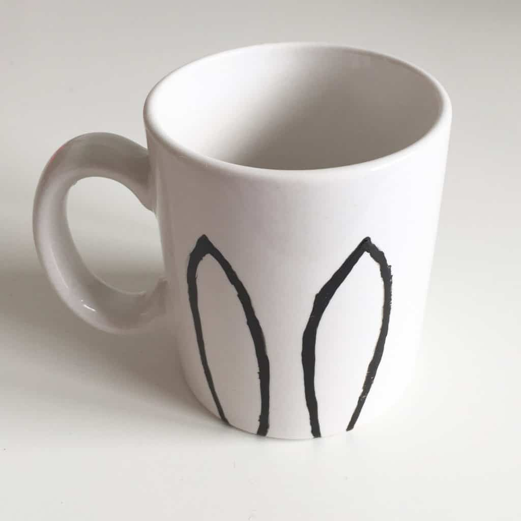 Bunny ears mug from the Berylune Craft Party