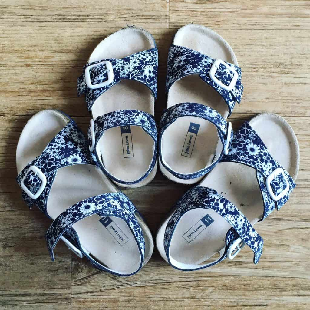John Lewis Navy Girl's Sandals