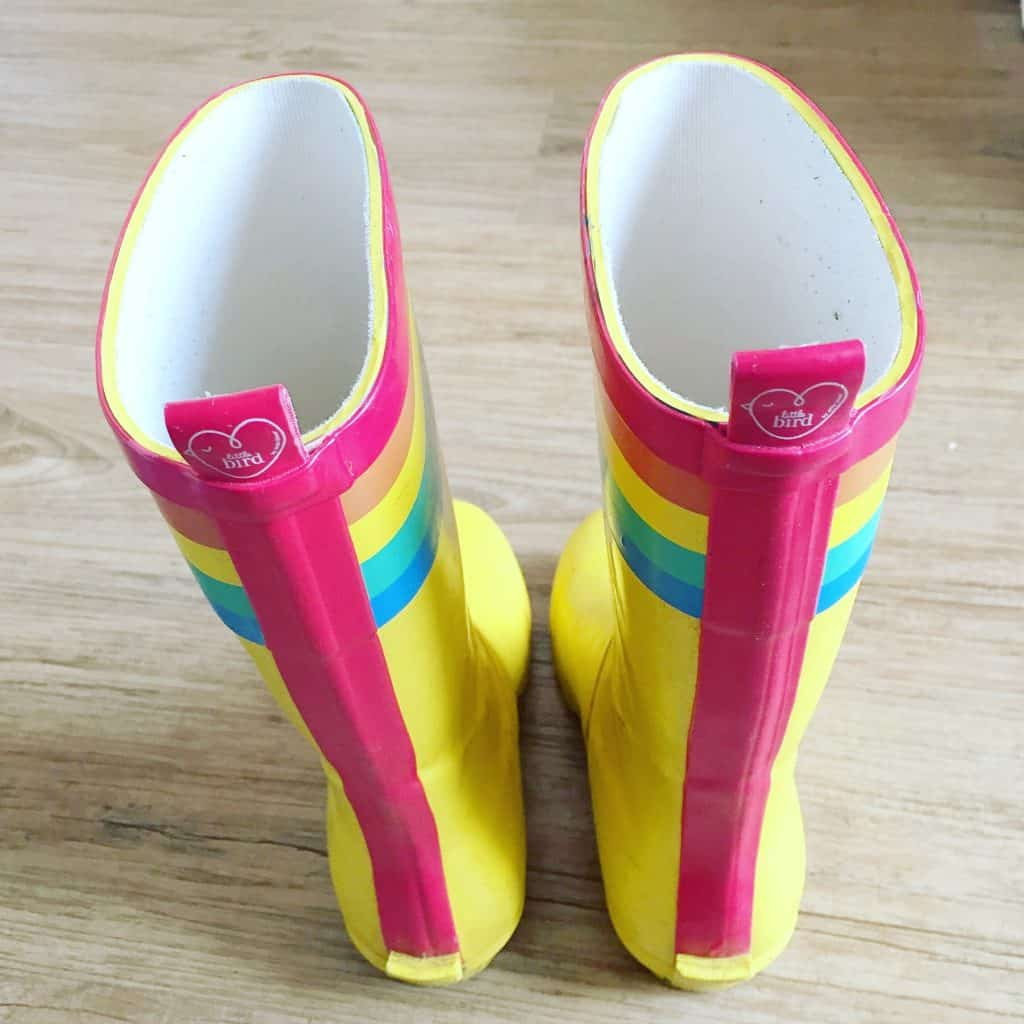 Little Bird Yellow Wellies