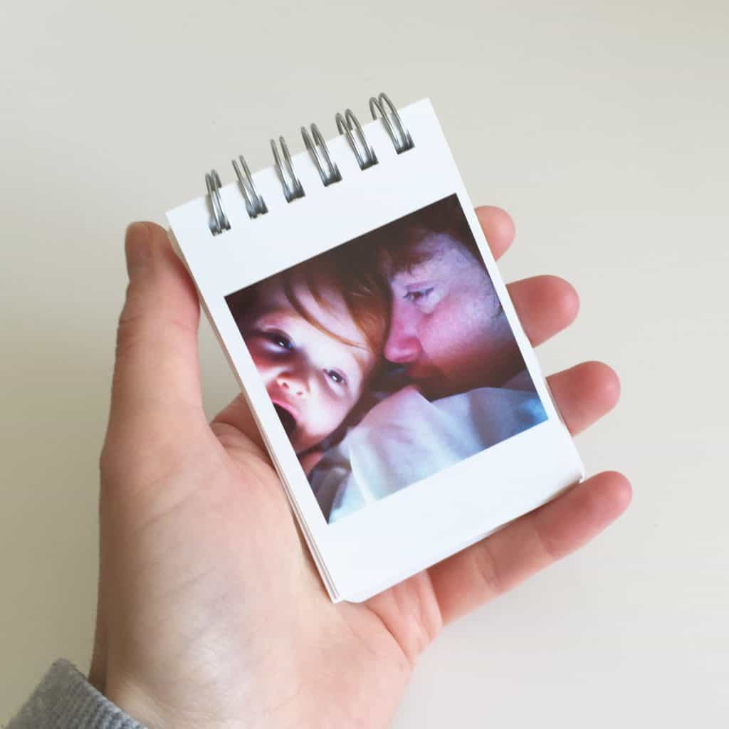 This cute Social Print Studio Mini photo book makes the perfect Father's Day gift