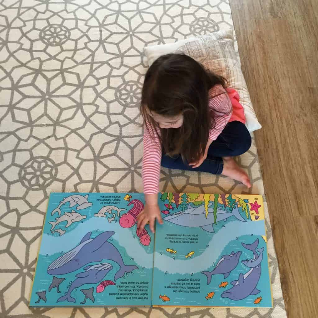 Thea and the Miles Kelly Convertible Submarine Giant Book