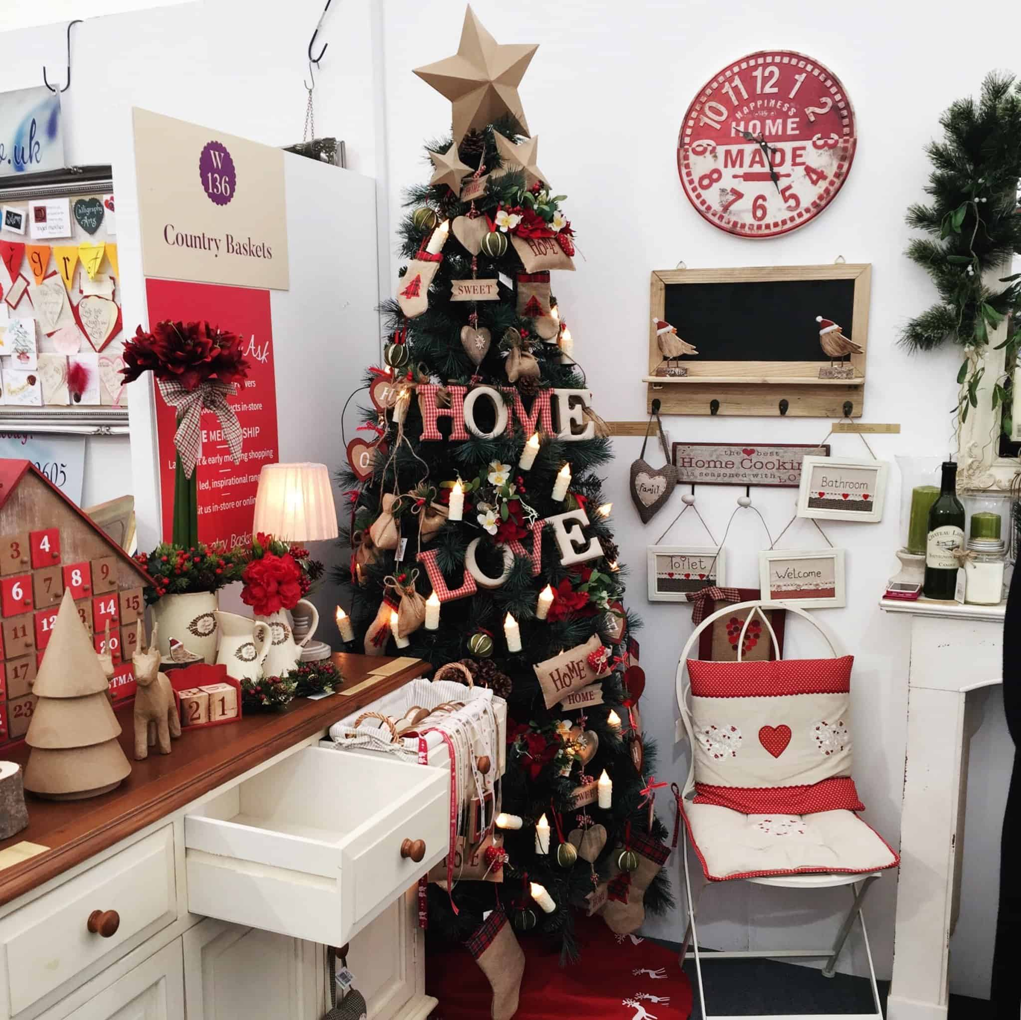 Christmas Corner at The Handmade Fair