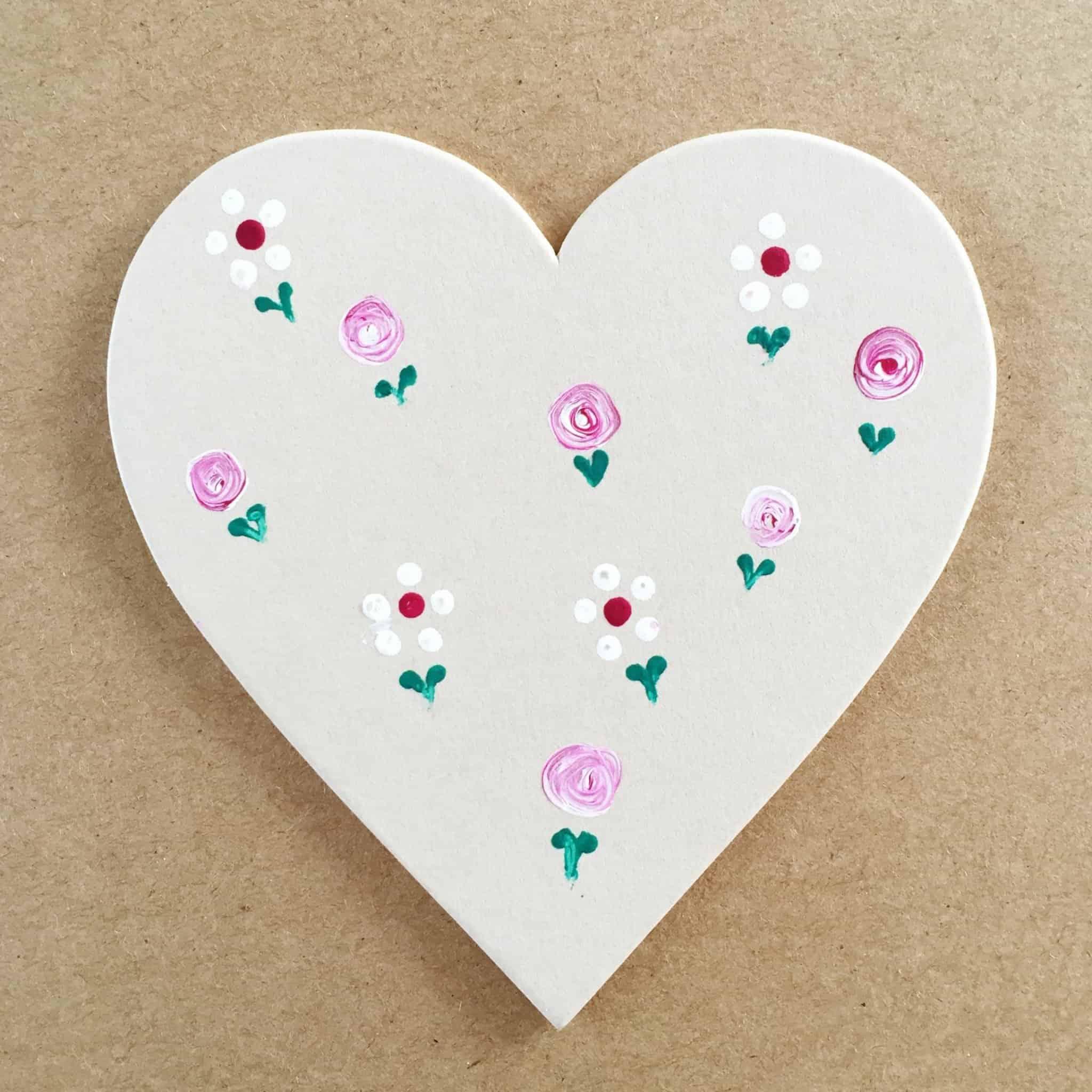 Dot Daisy Practice Heart with Folk It at The Handmade Fair