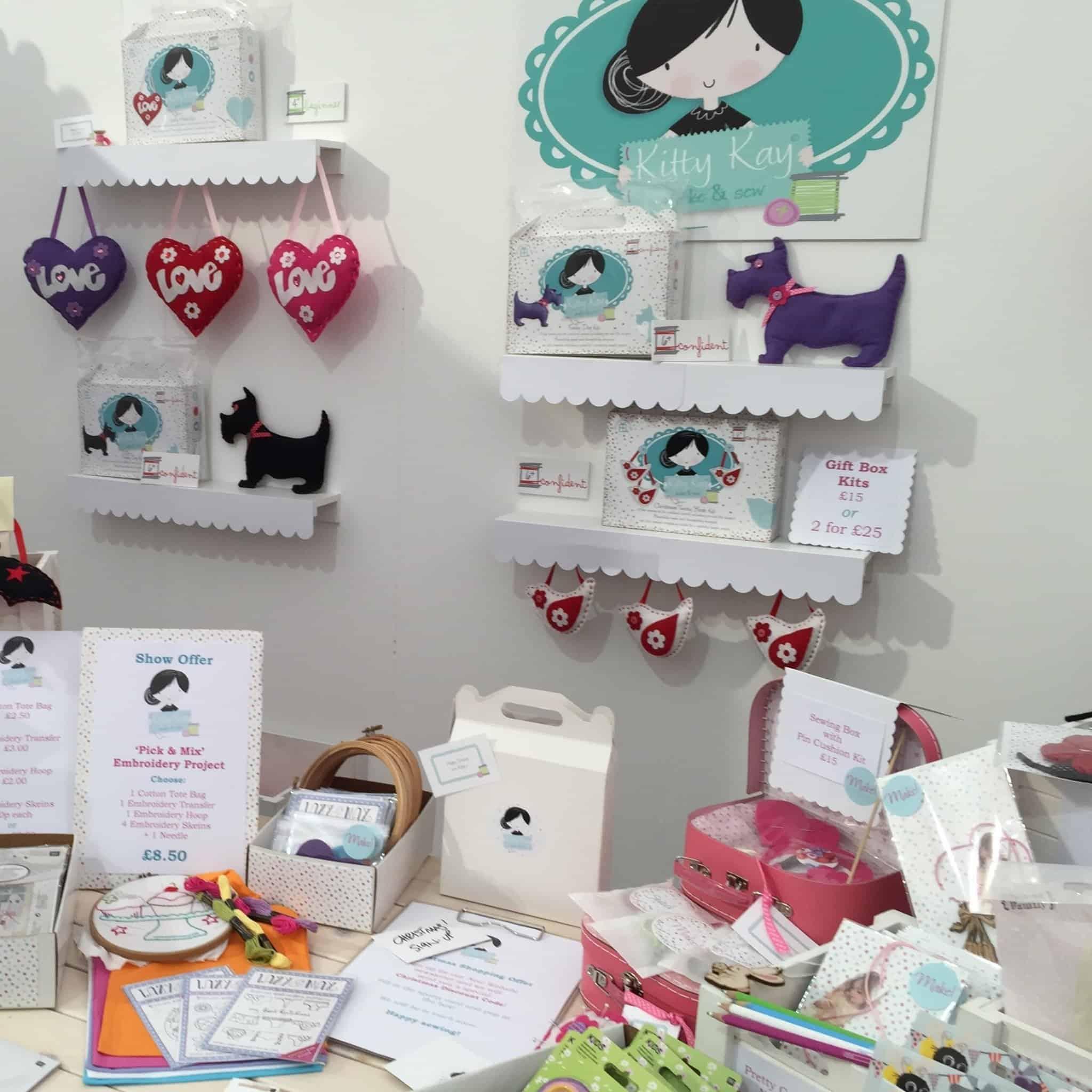 Kitty Kay Kids Craft Kits at The Handmade Fair