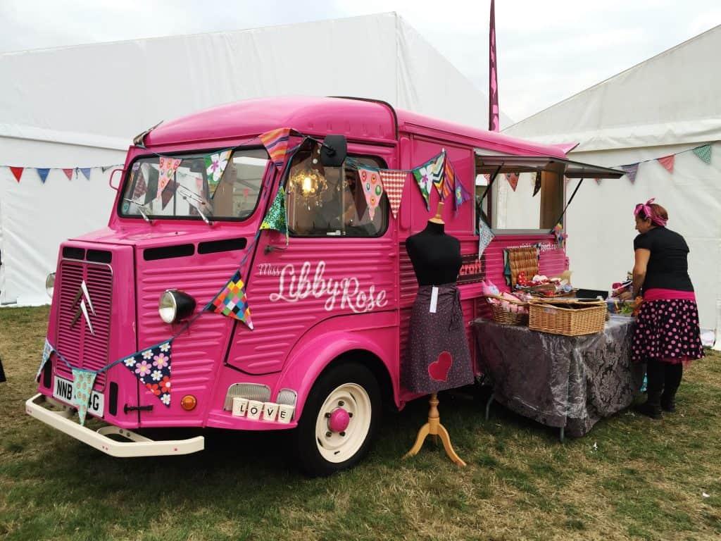 Miss Libby Rose Bus At The Handmade Fair