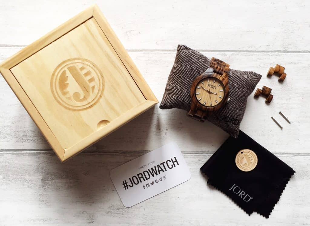 REVIEW: A Beautiful Wooden Wrist Watch from JORD