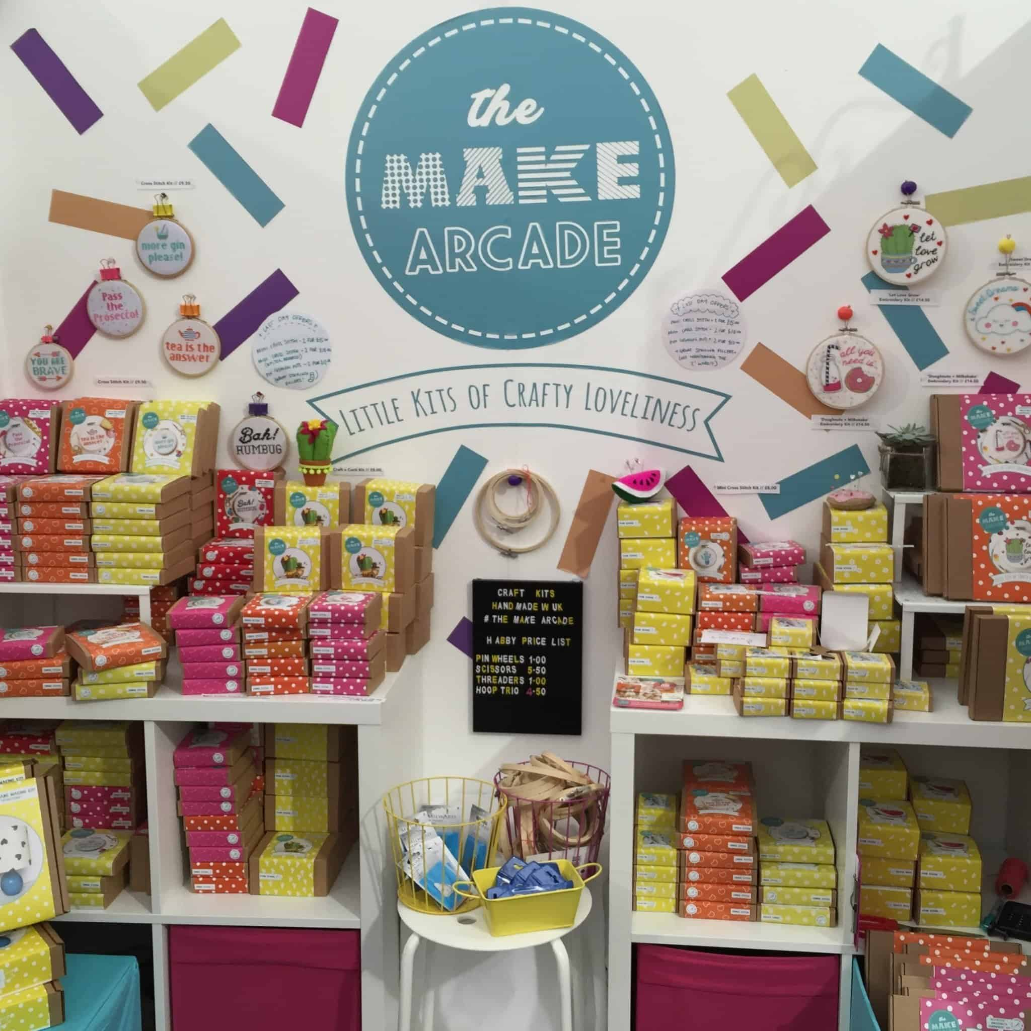 The Make Arcade at The Handmade Fair