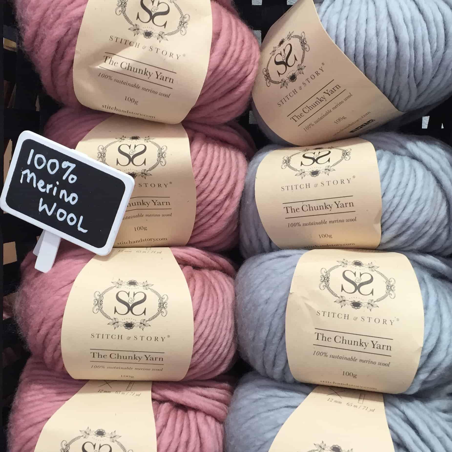 Wool at The Handmade Fair