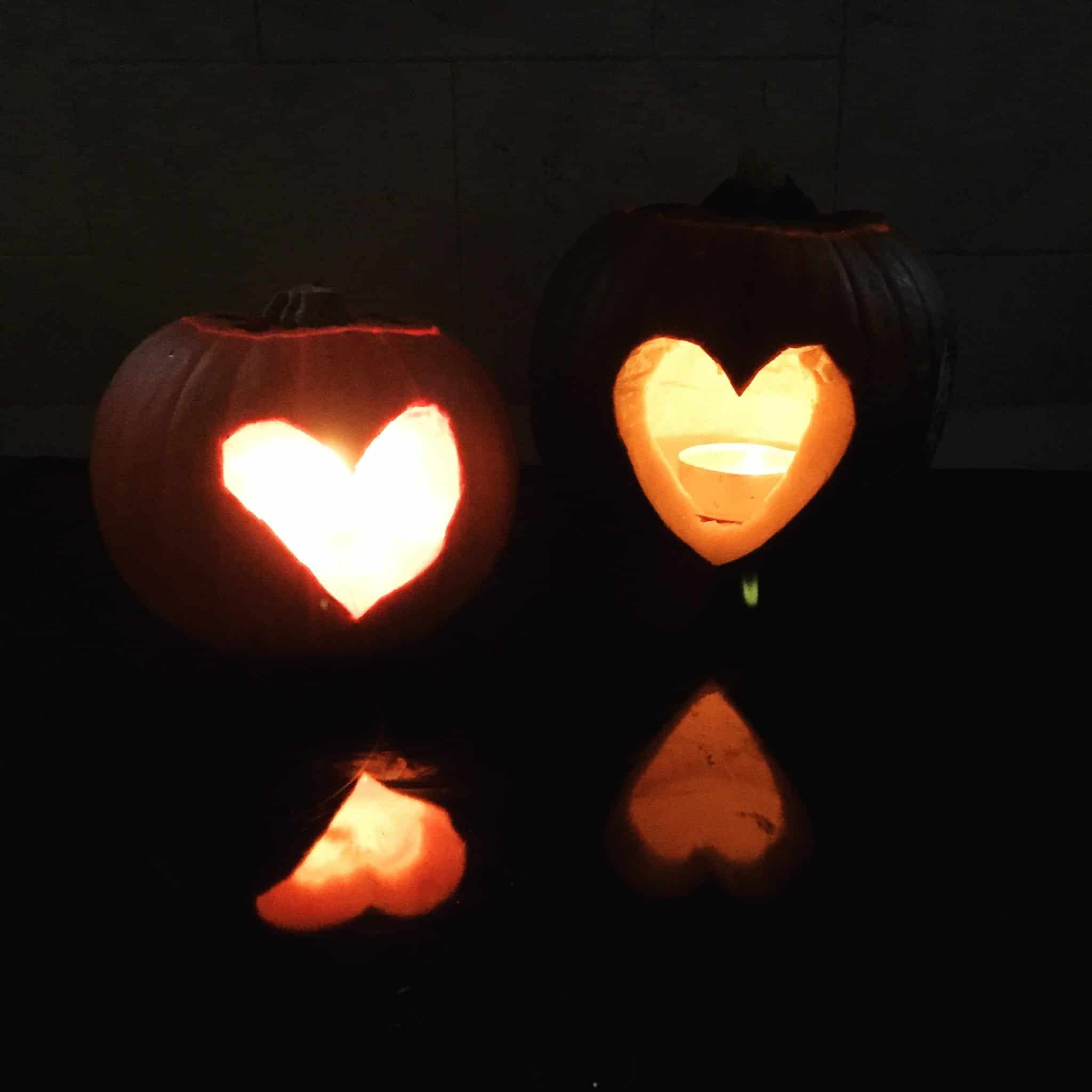 An alternative halloween with world vision 39 s carve a heart campaign pinkscharming - Charming halloween decoration using love pumpkin carving ...