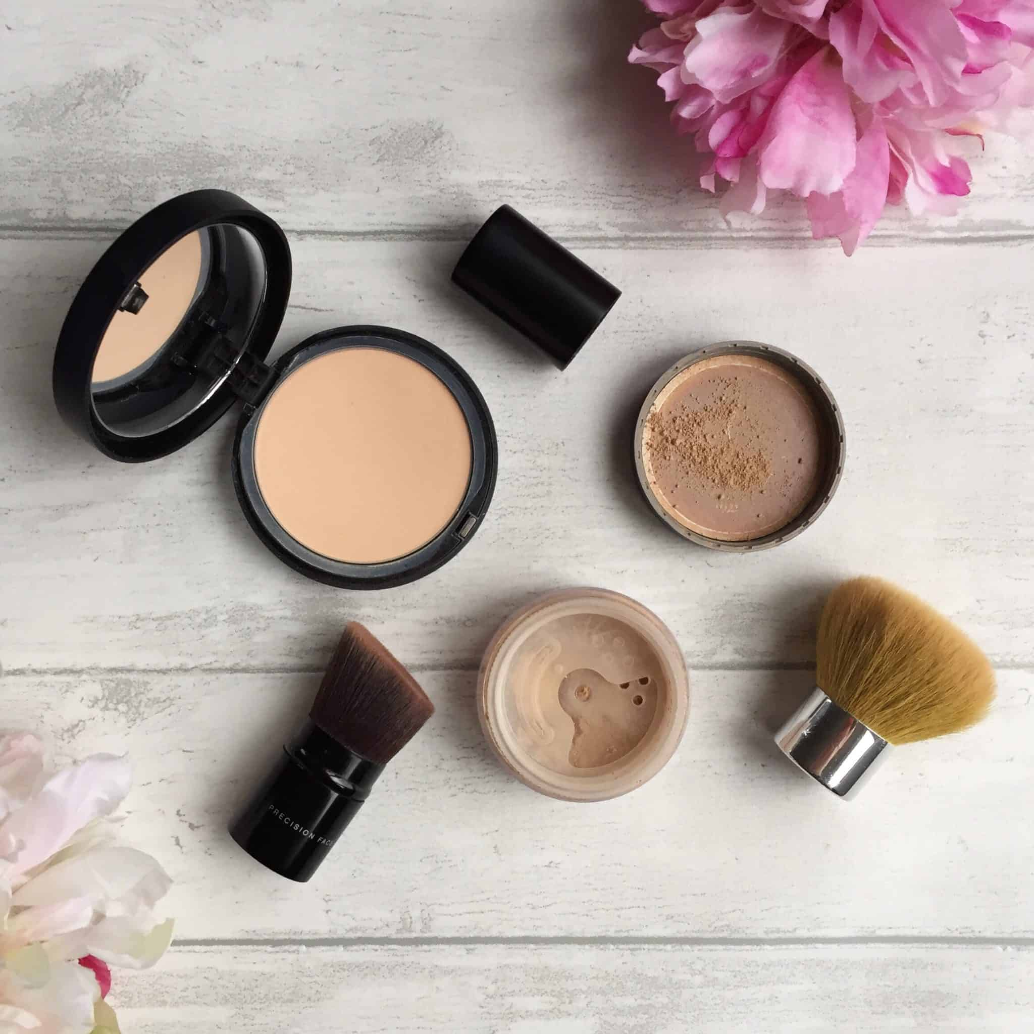 bareminerals mineral foundation original vs bare pro. Black Bedroom Furniture Sets. Home Design Ideas