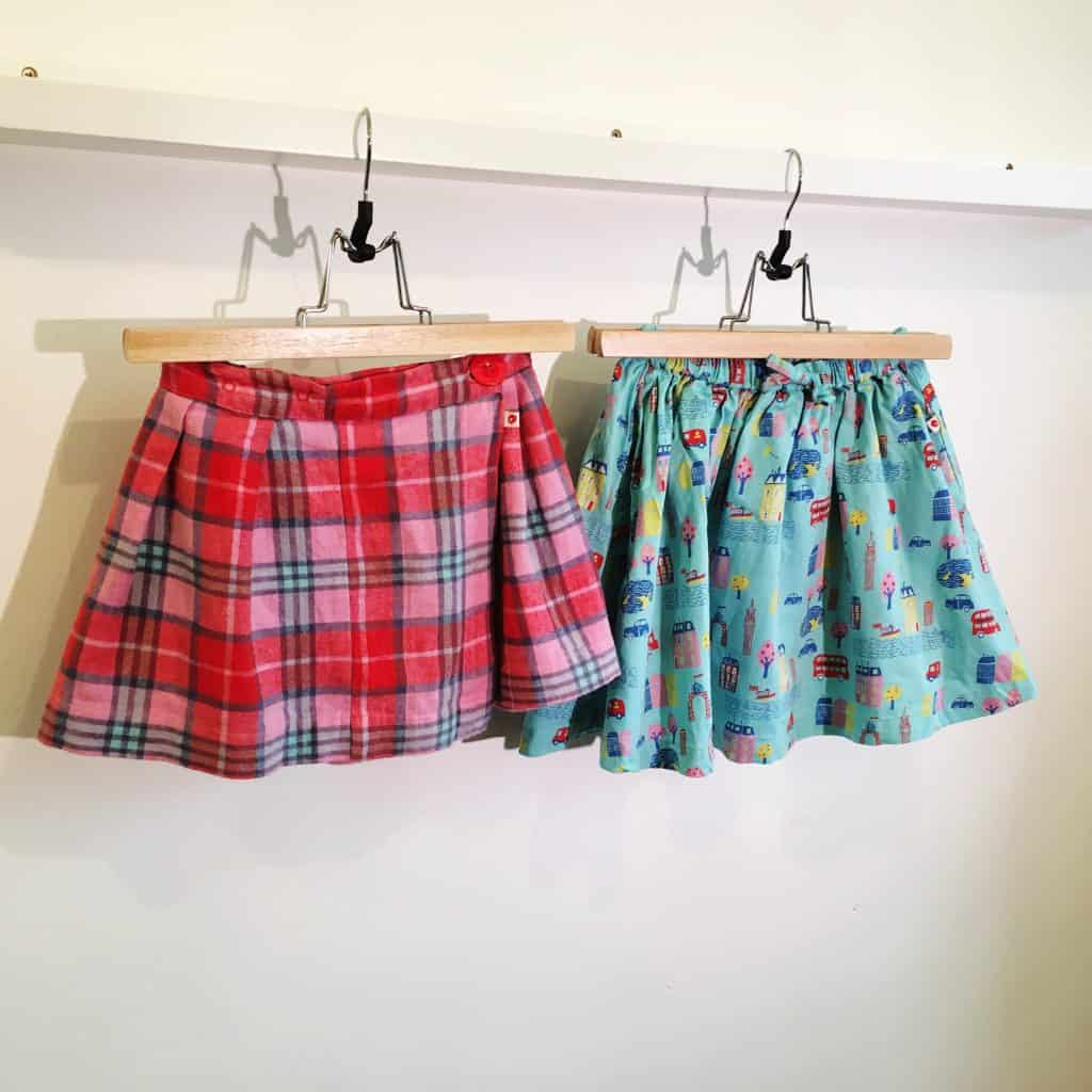 Piccalilly organic kids skirts