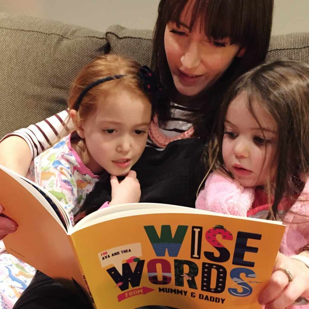 Reading our Book of Everyone personalised children's book