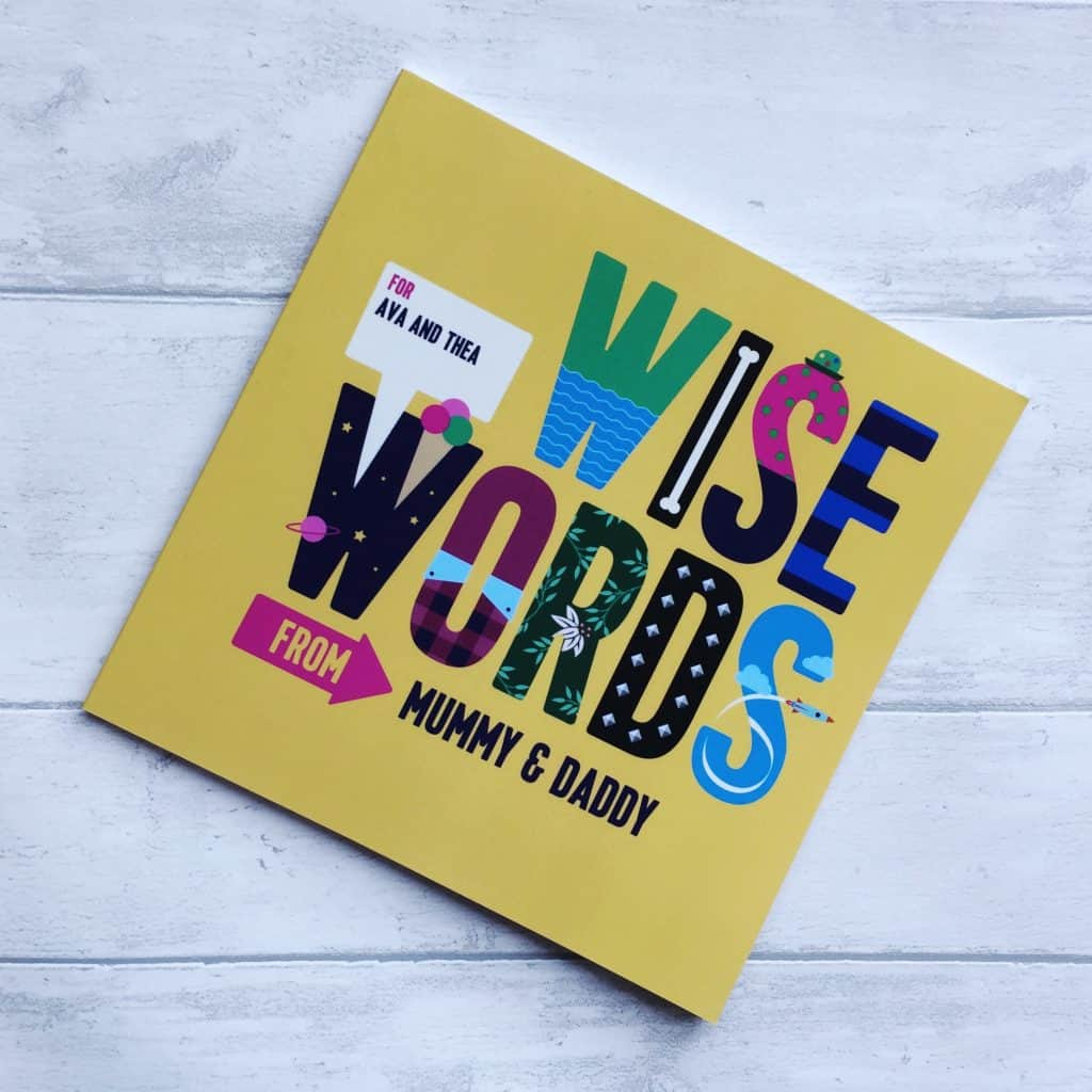 Wise Words Personalised children's book from Book of Everyone