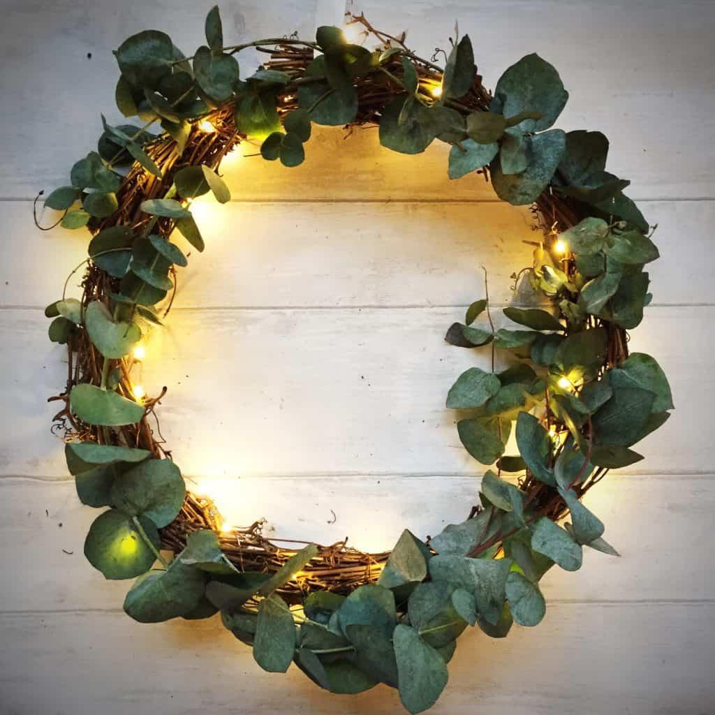My simple Christmas wreath