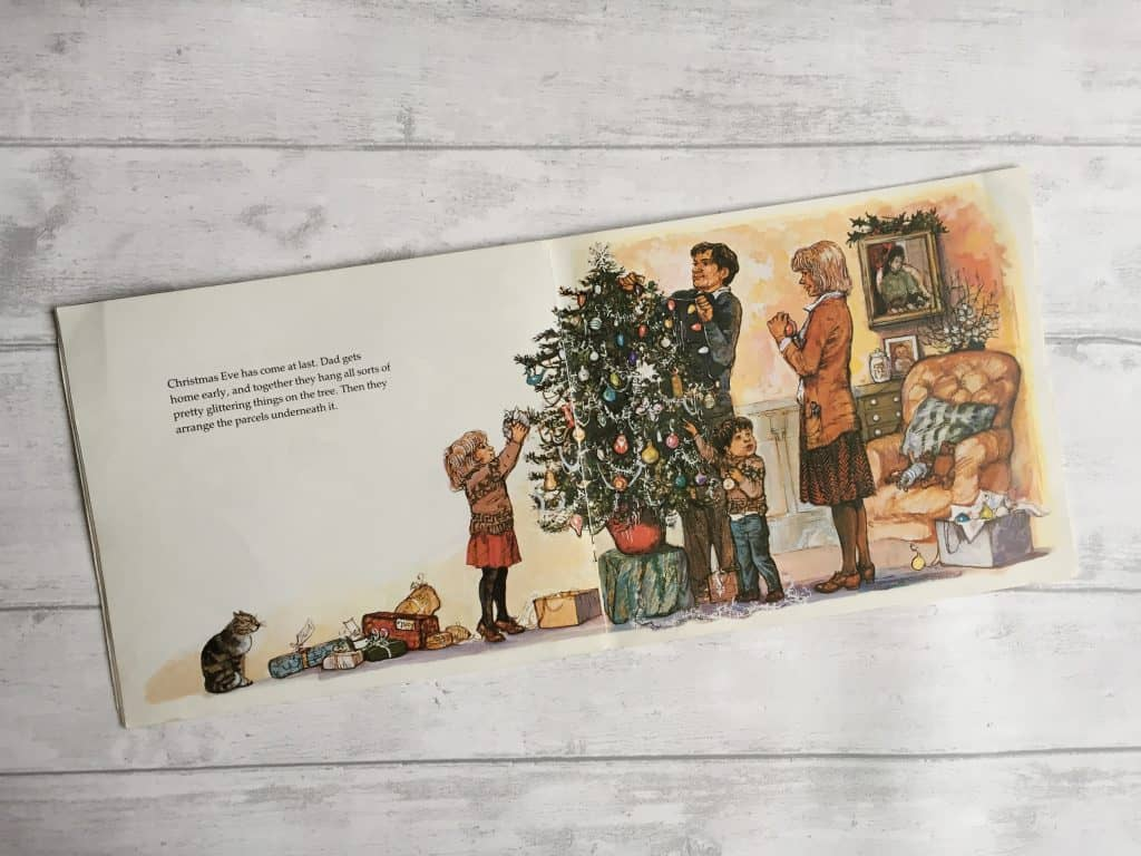 Pages from Lucy and Tom's Christmas