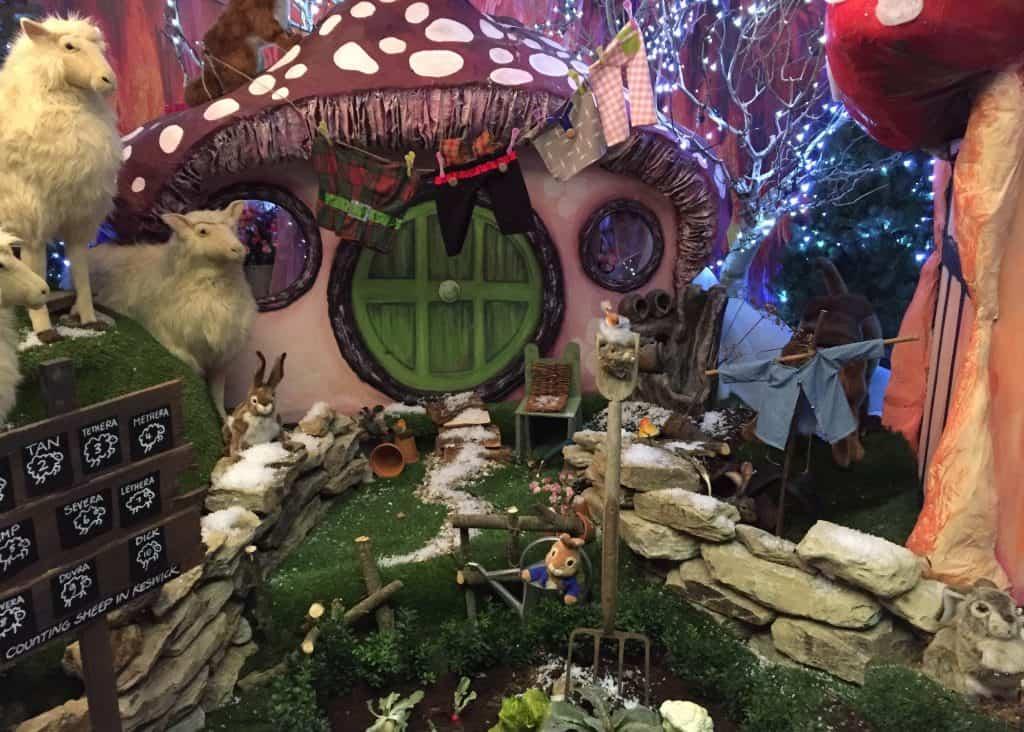 Peter Rabbit at World's End Winter Wonderland