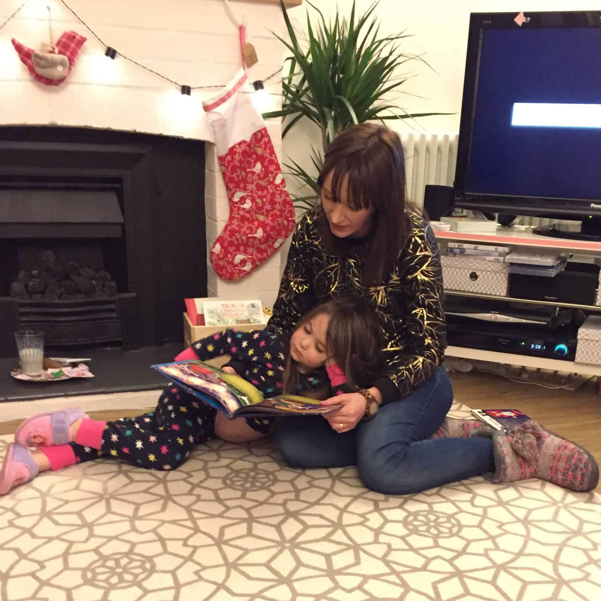 Reading Christmas stories