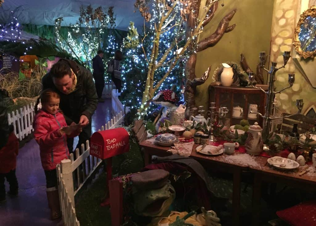 Christmas Planning :The Wind in the Willows at World's End Winter Wonderland