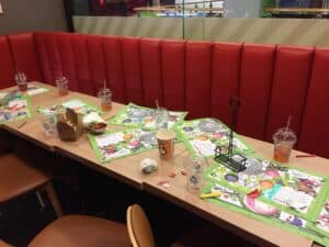 The aftermath of the Hollywood Bowl kids birthday party