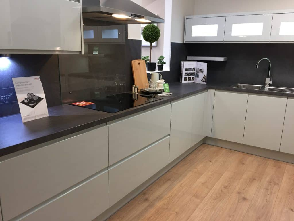 How our new monochrome kitchen may look