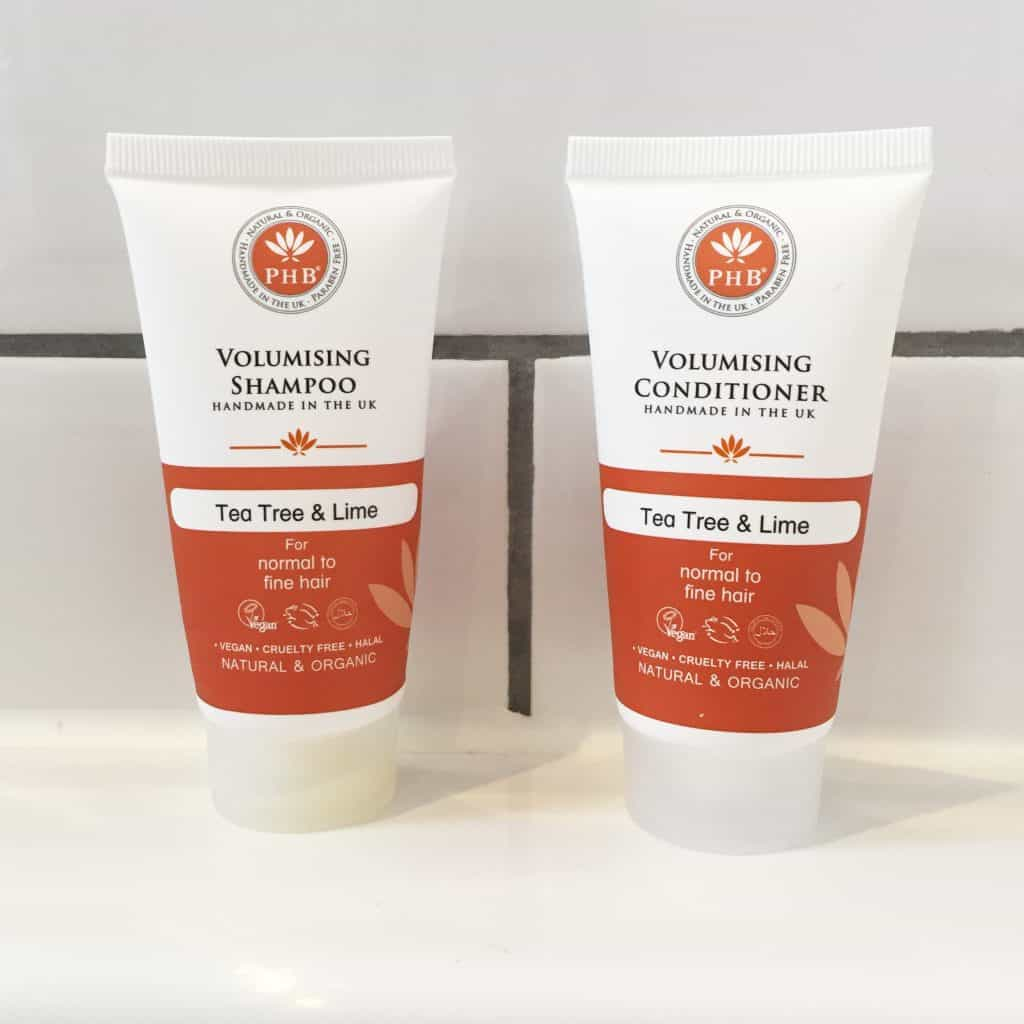 PHB Ethical Beauty Volumising Shampoo and Conditioner