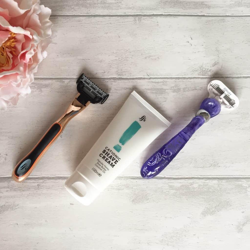 Friction Free Shaving Samanta vs Gillette Venus