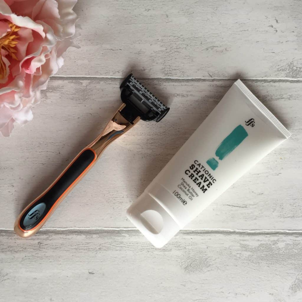 Friction Free Shaving Samantha Razor and Shave Cream